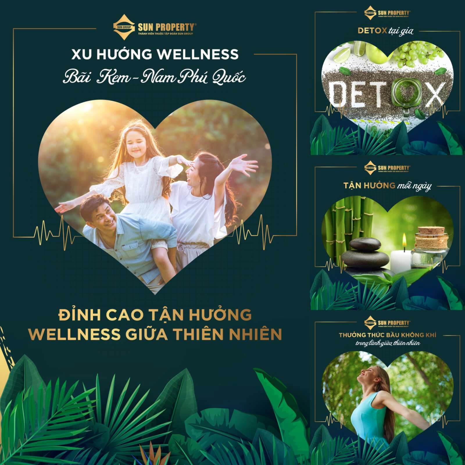 Tận hưởng Wellness giữa thiên nhiên
