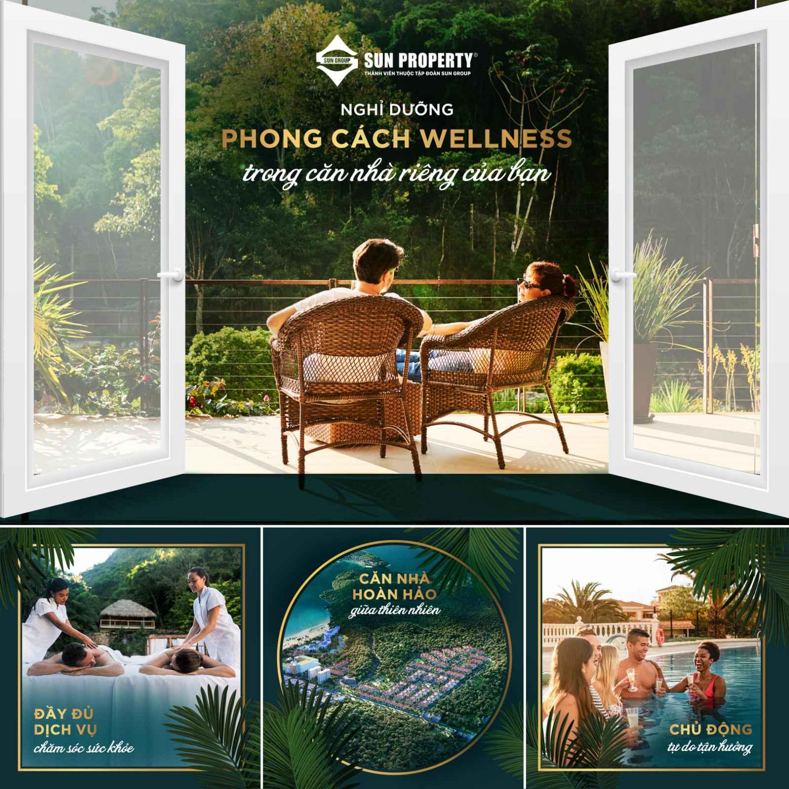 Phong cách nghỉ dưỡng Wellness