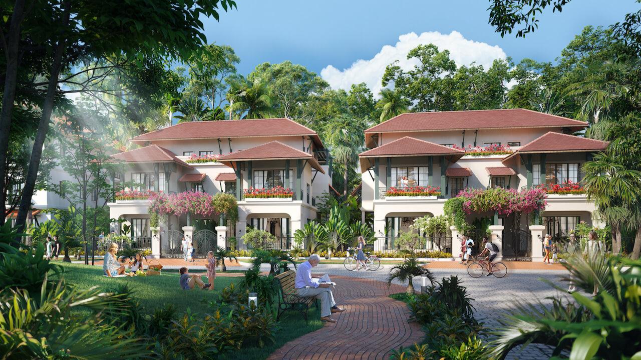 Lợi ích không gian sống xanh đối với ngôi nhà